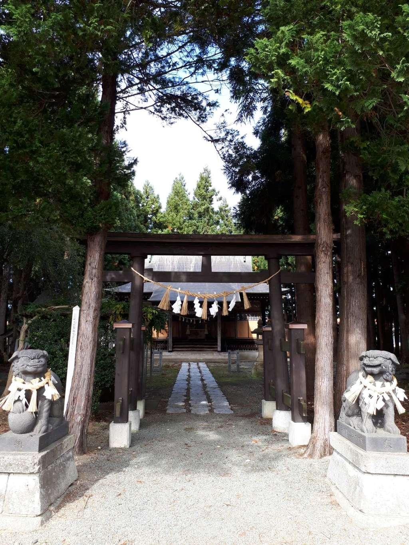 横手八幡神社の狛犬