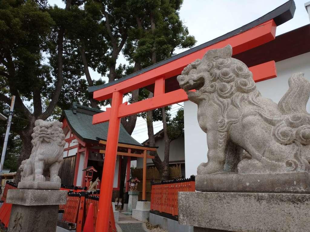 姫嶋神社の狛犬