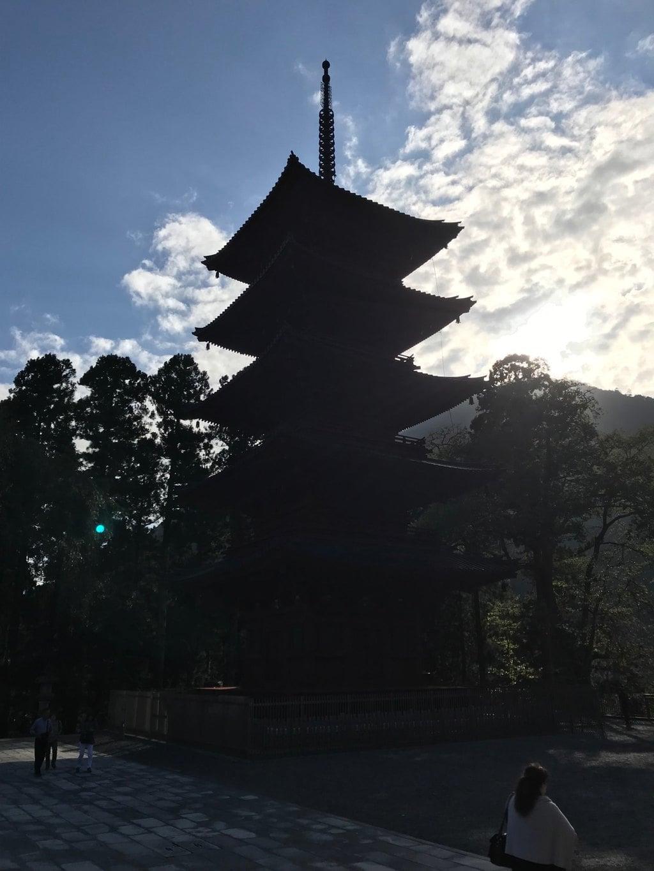 久遠寺の塔