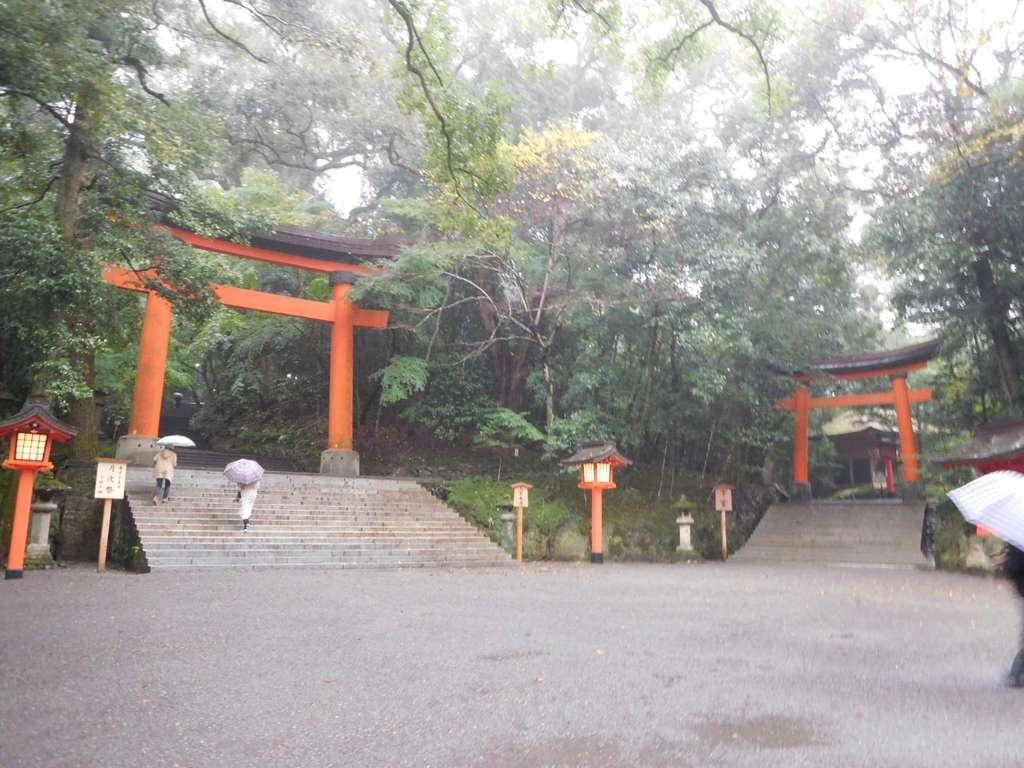 宇佐神宮の鳥居
