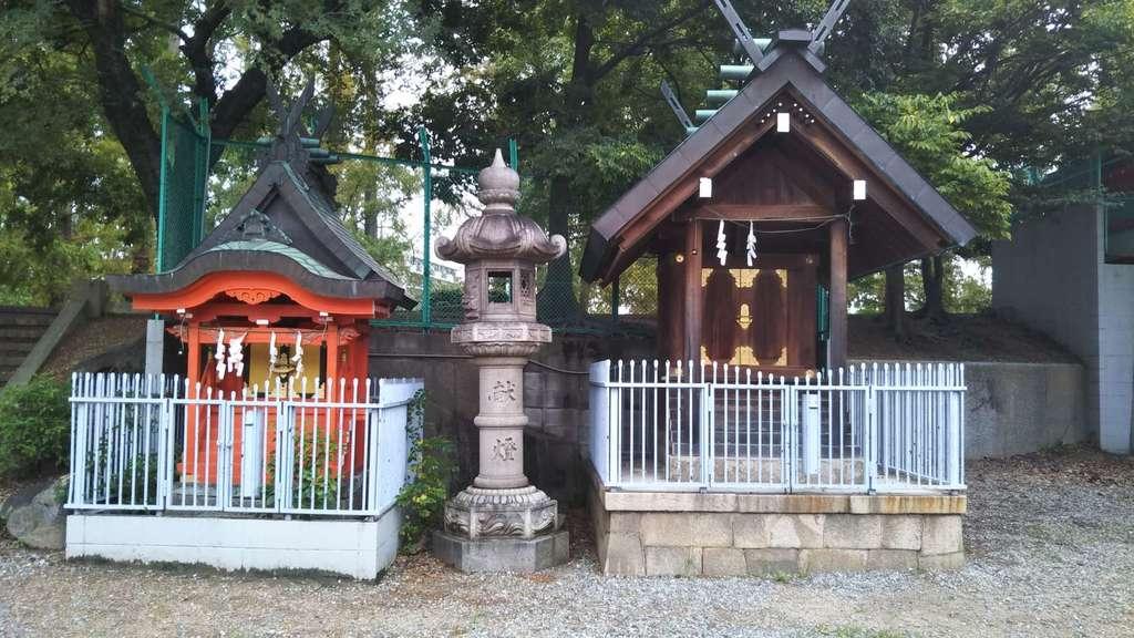 赤留比売命神社(杭全神社飛地境内社)の末社