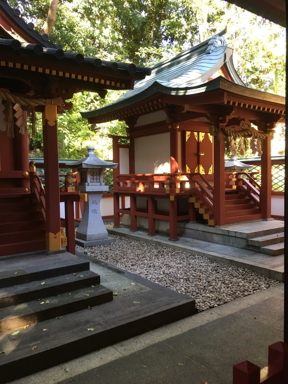 日枝神社の末社