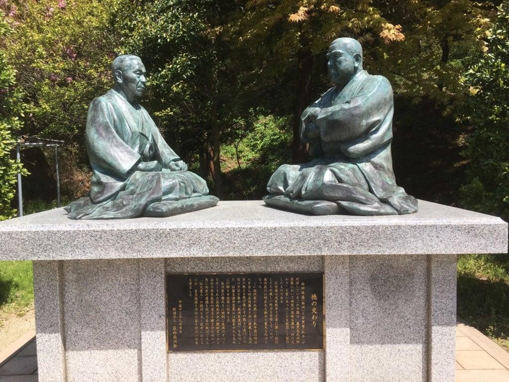 南洲神社の像