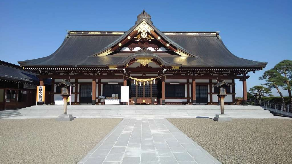 山形縣護國神社の本殿