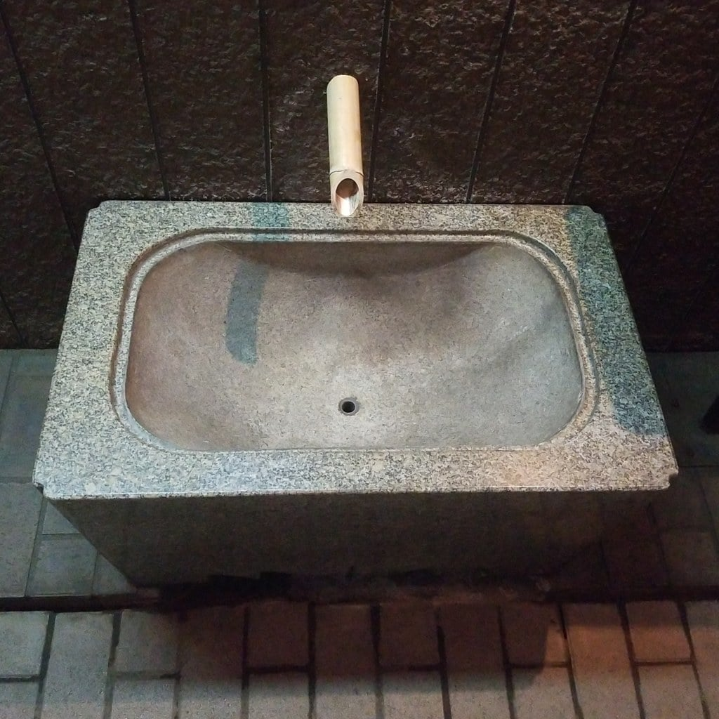 豊岩稲荷神社の手水