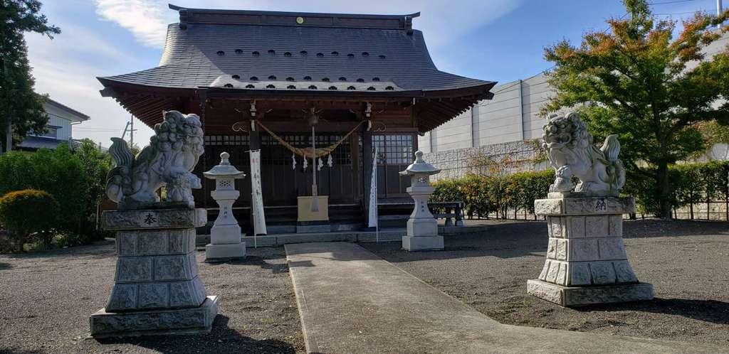 大荒神社の本殿