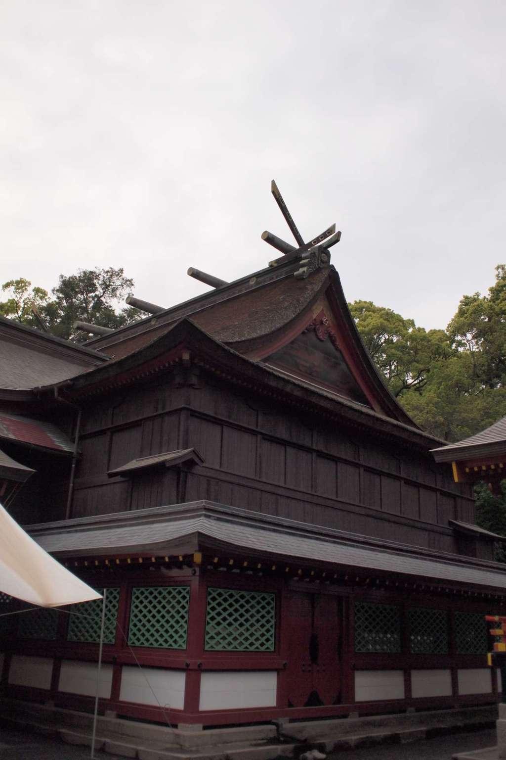 鹿児島神宮の本殿
