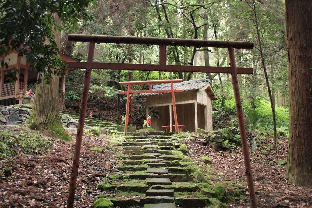 鹿児島神宮の鳥居