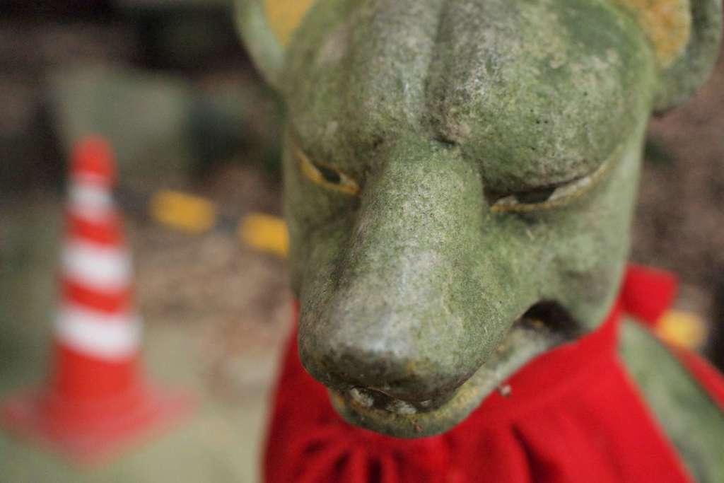 鹿児島神宮の狛犬