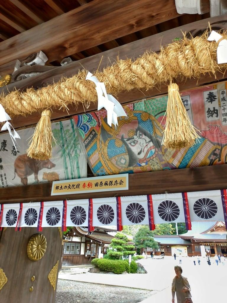 砥鹿神社(里宮)の絵馬