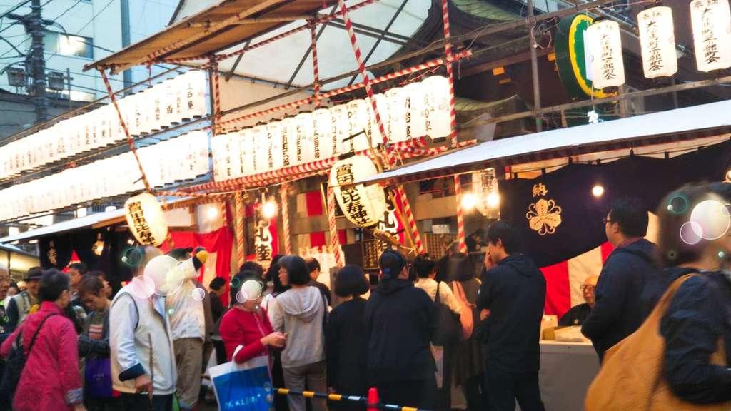 寳田恵比寿神社のお祭り