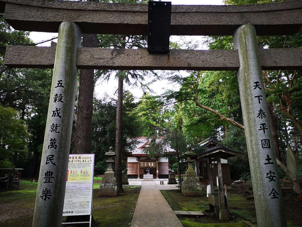 蛟蝄神社(茨城県)