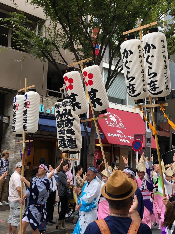 赤城神社のお祭り