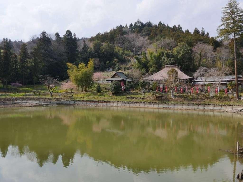 久昌寺の庭園