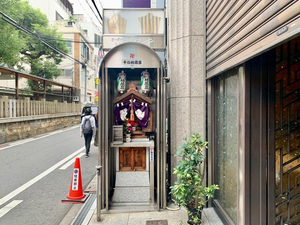 千心地蔵尊の本殿