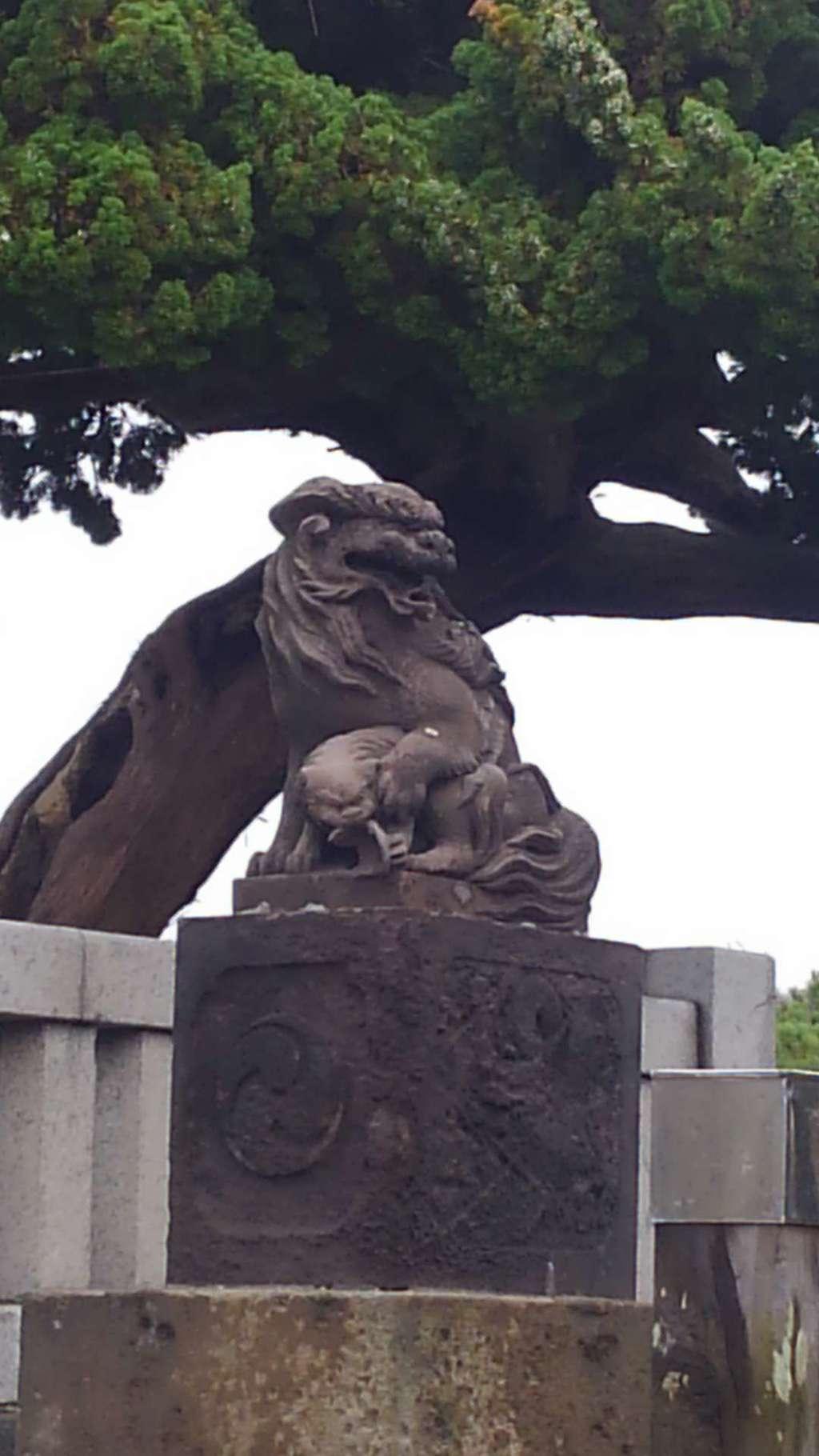 森戸大明神(森戸神社)の狛犬