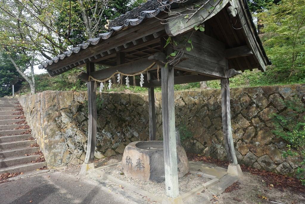新具蘇姫命神社の手水