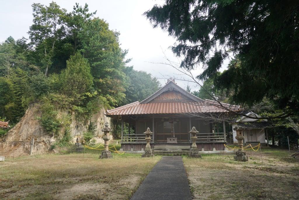 新具蘇姫命神社の本殿