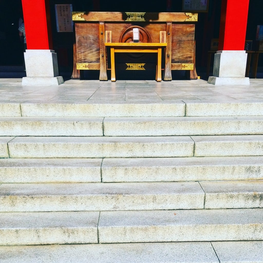 富岡八幡宮の本殿
