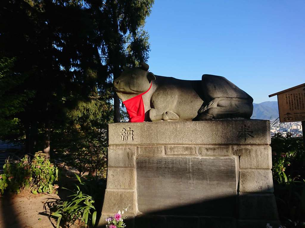 善光寺の狛犬
