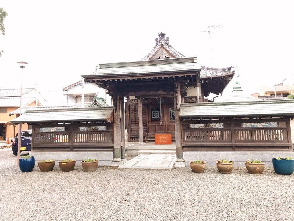 大慶寺の山門