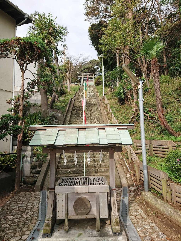 片瀬諏訪神社の建物その他
