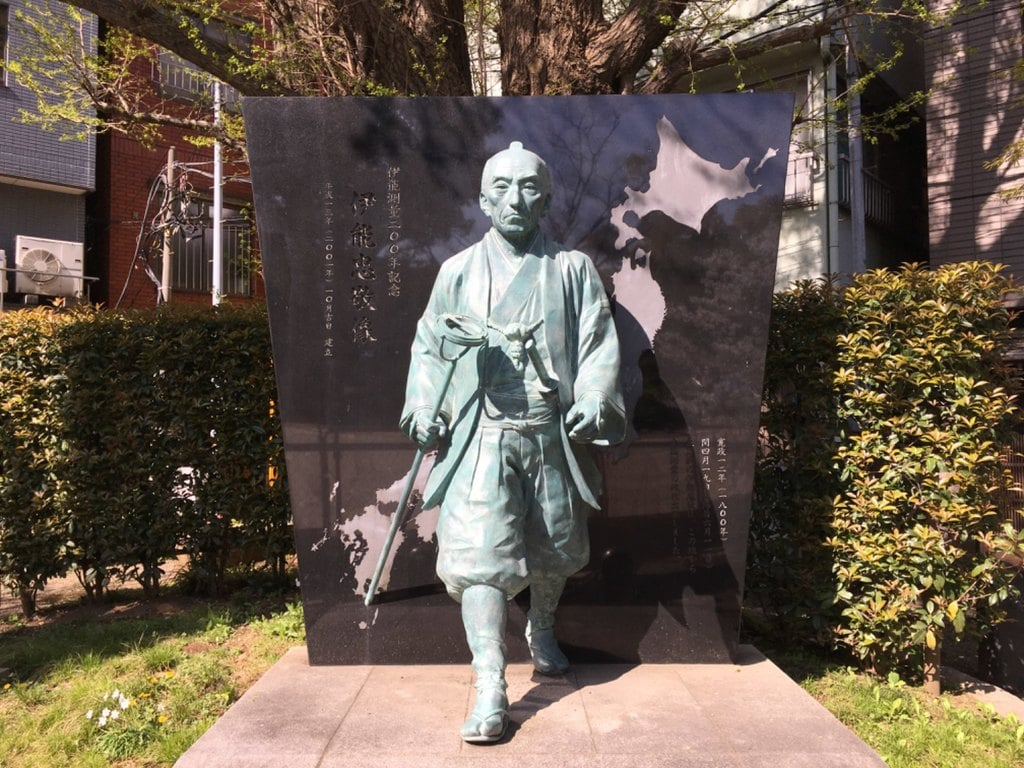 富岡八幡宮の像