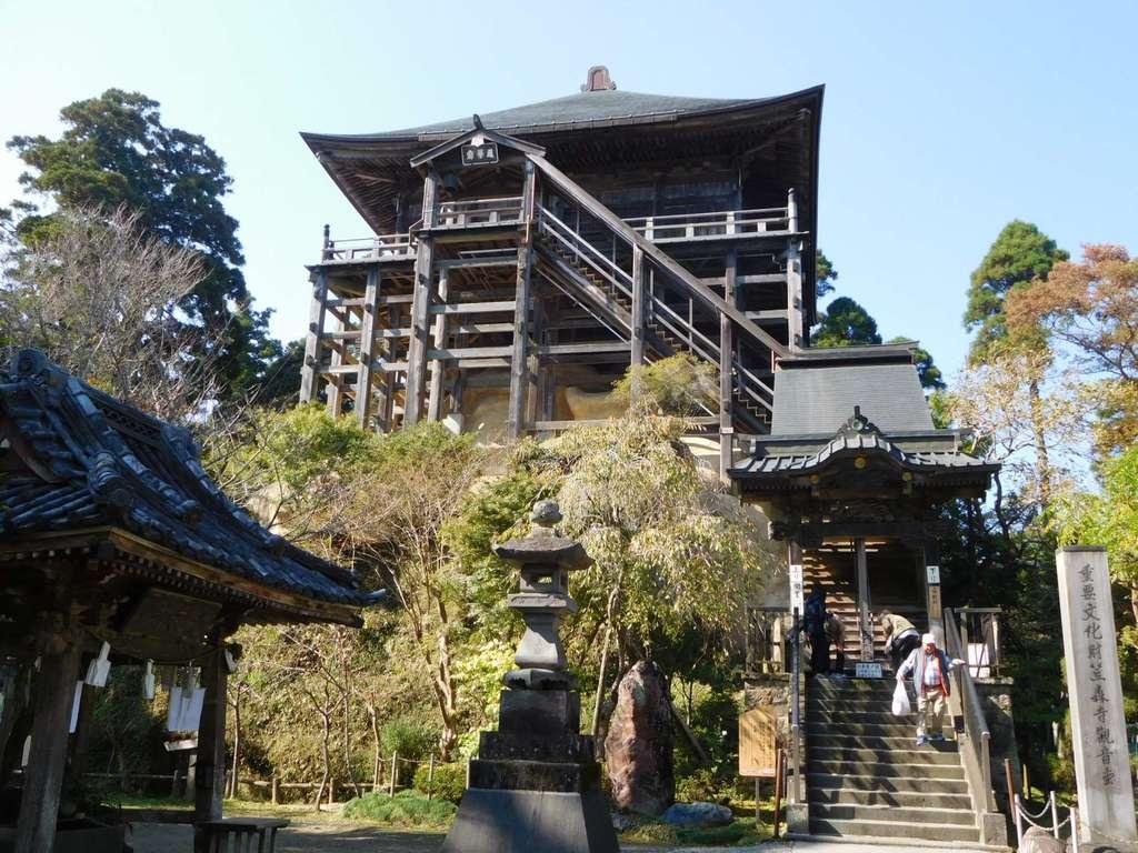 笠森寺の本殿