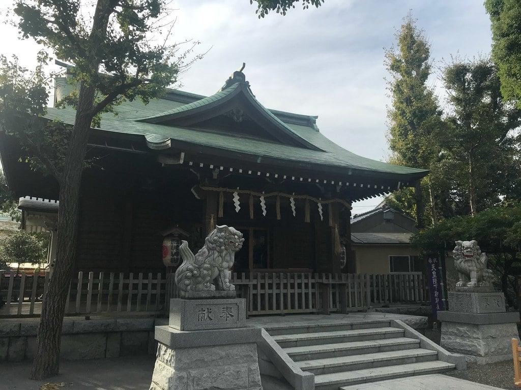 お三の宮日枝神社の本殿
