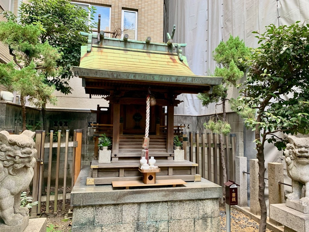 羽呉神社の本殿