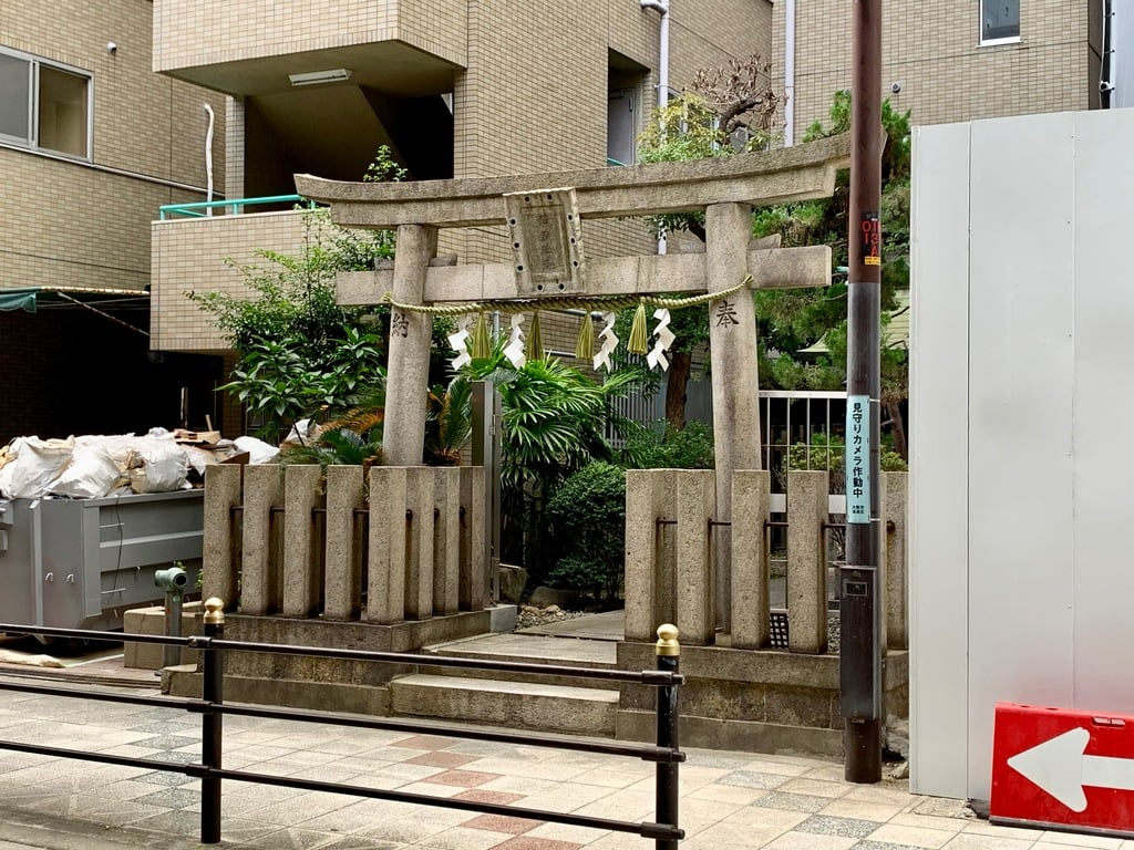 羽呉神社の鳥居