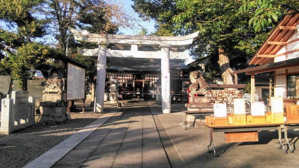 稲積神社の庭園