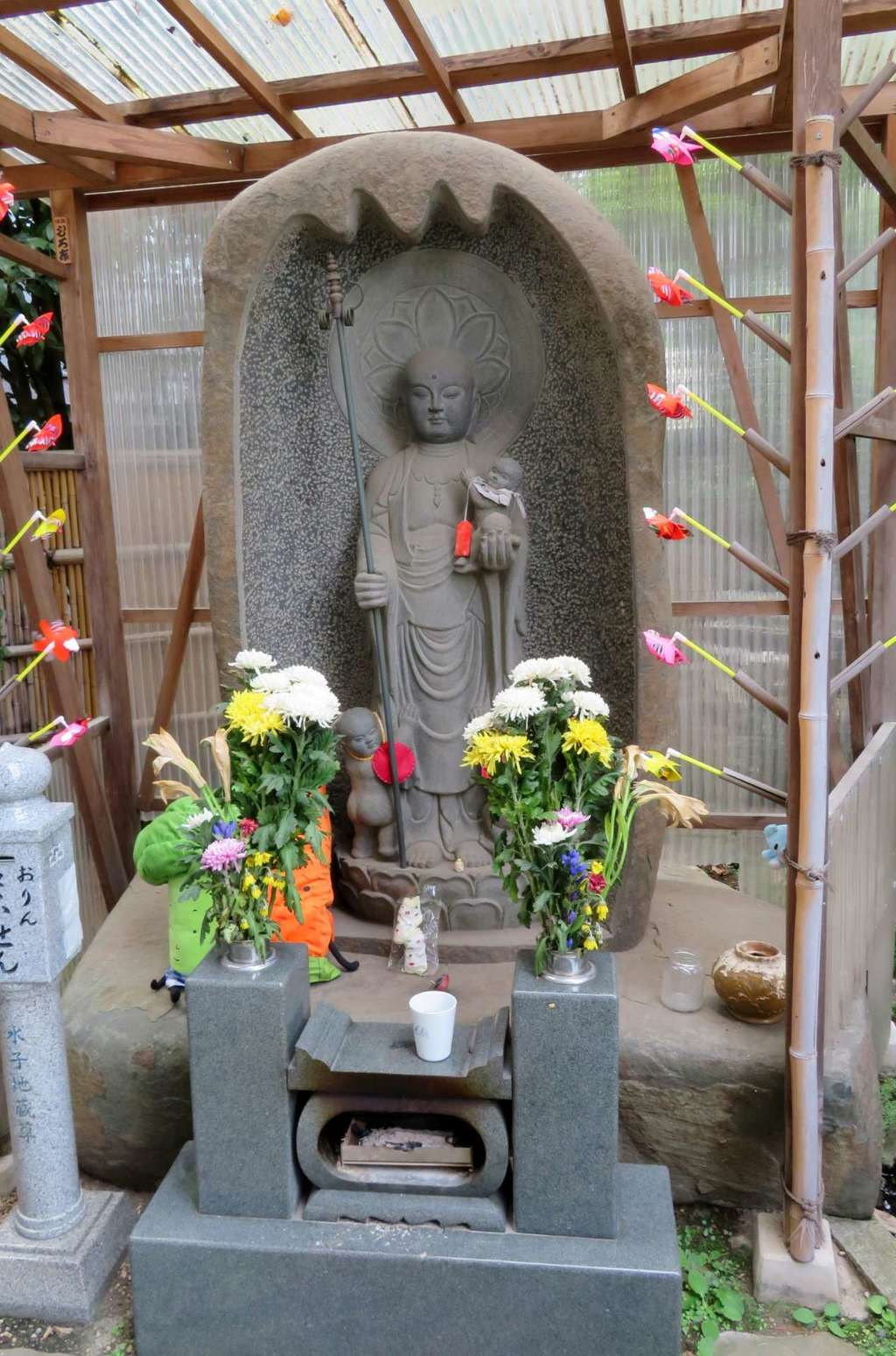 成田山川越別院の地蔵