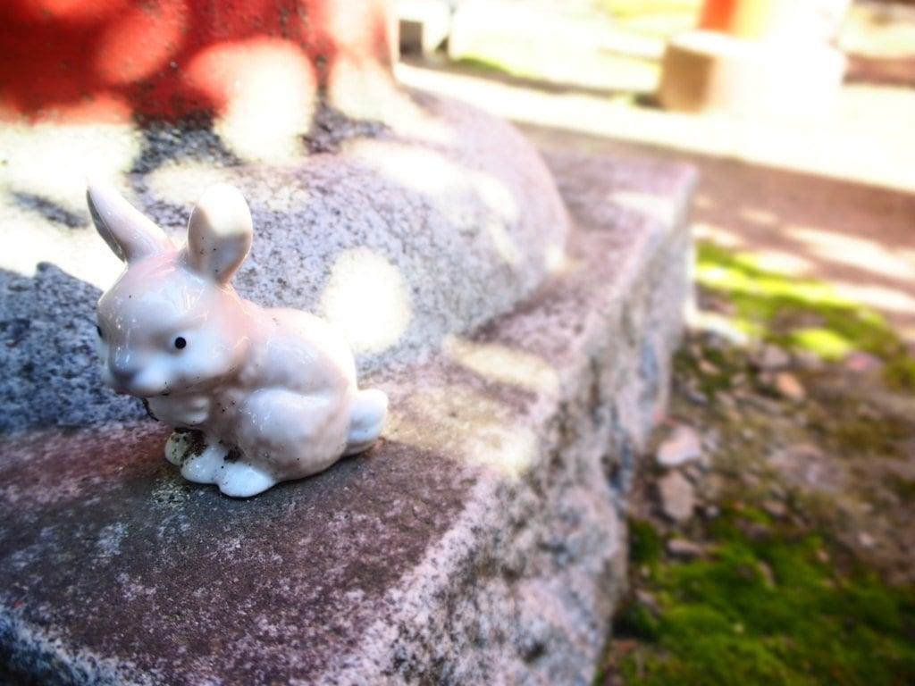 三輪神社の狛犬