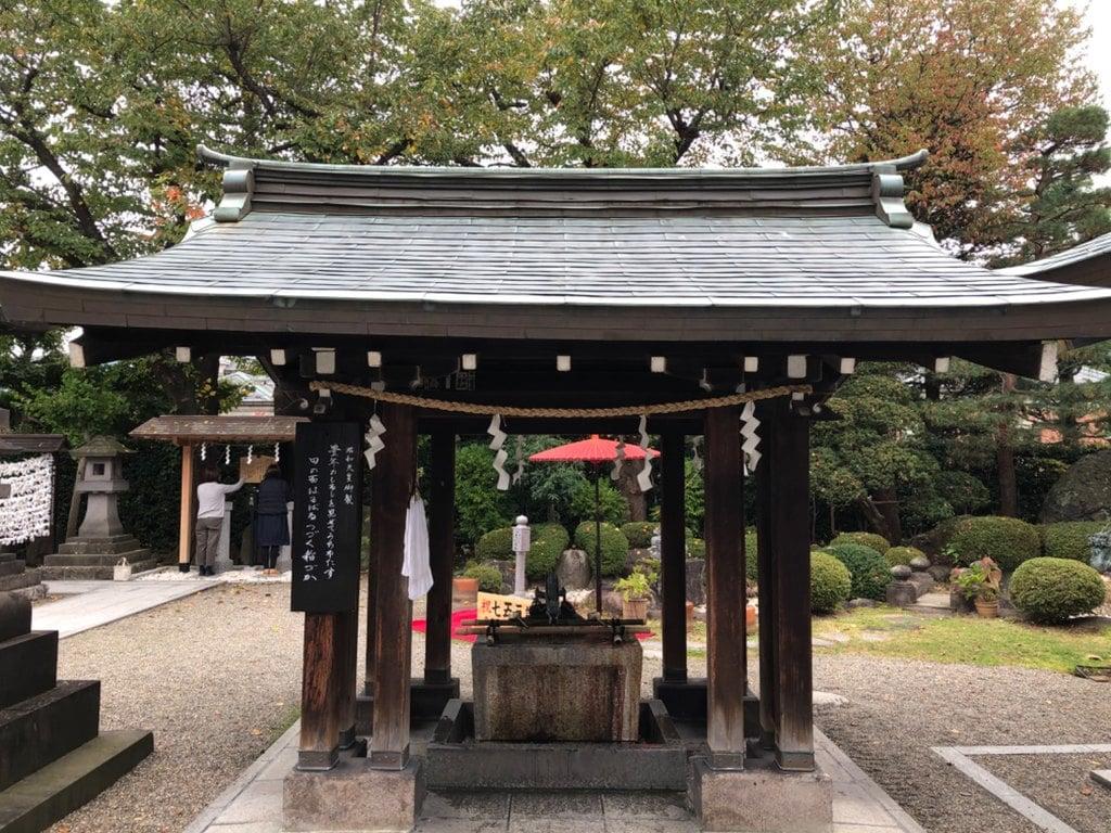 里之宮 湯殿山神社の手水