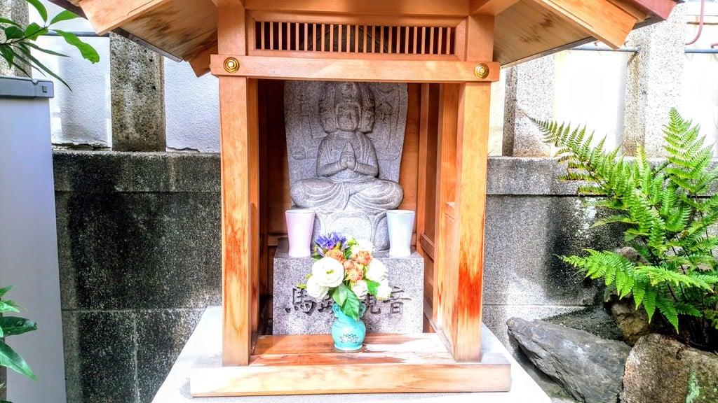 大池白龍大神の仏像