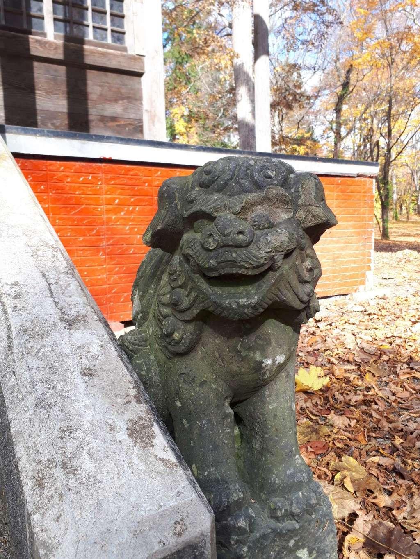 浦臼神社の狛犬
