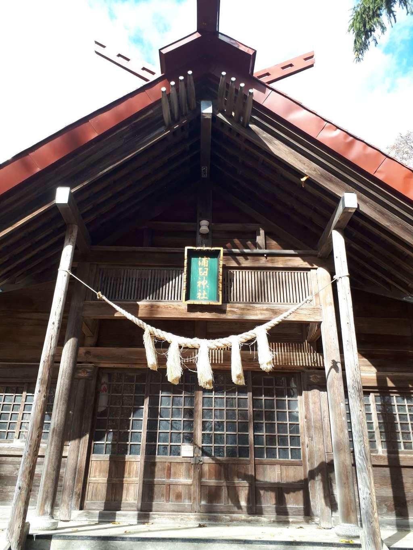 浦臼神社の本殿