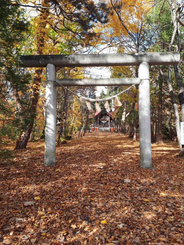 浦臼神社の鳥居