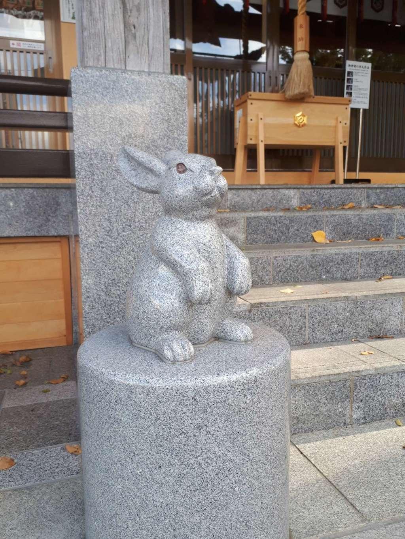 出雲大社新十津川分院の狛犬