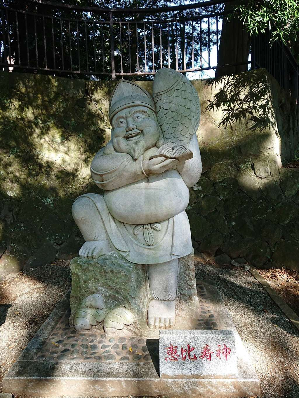 五所神社の像