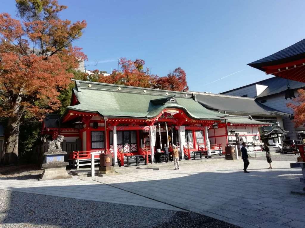 深志神社の本殿