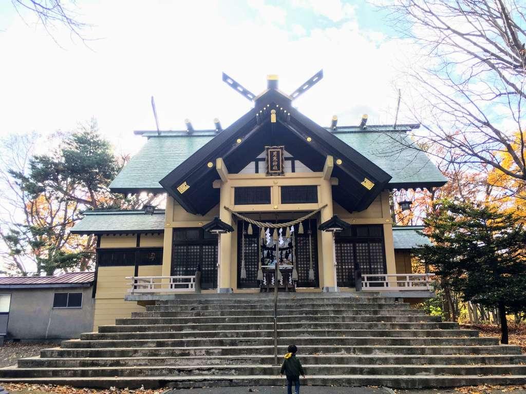 月寒神社の本殿