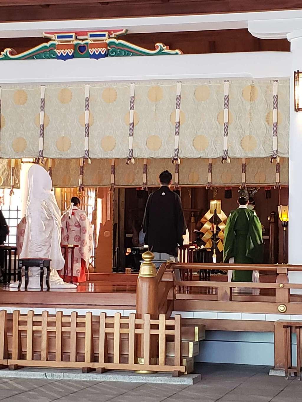 日枝神社の結婚式