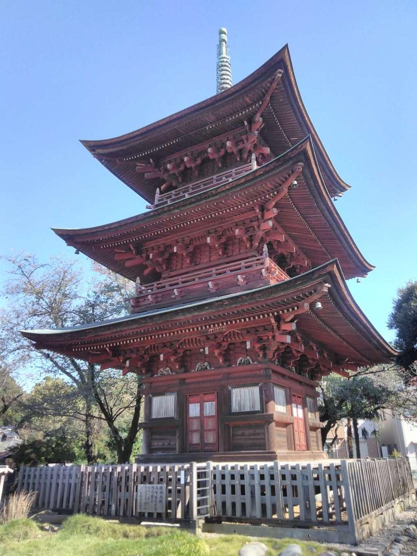 西福寺の塔