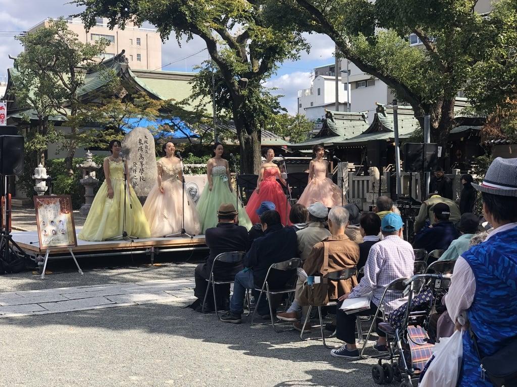 開口神社のお祭り