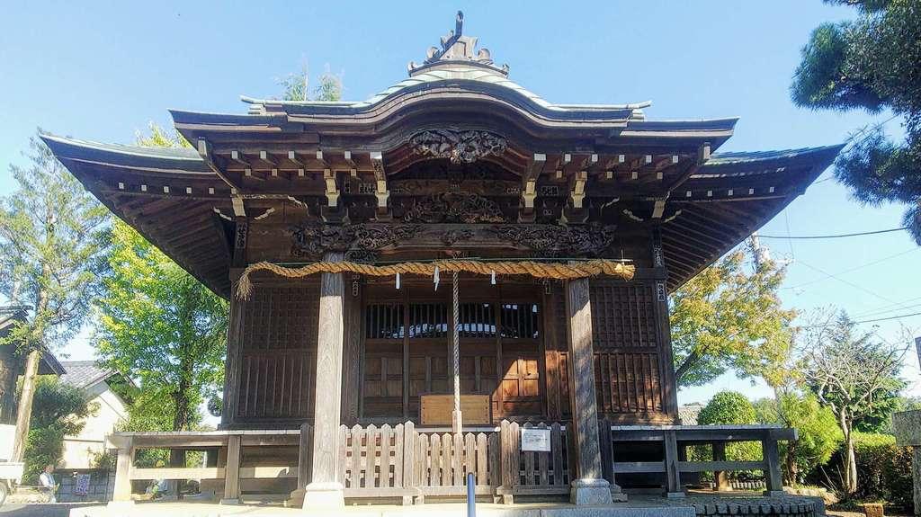狭山神社の本殿