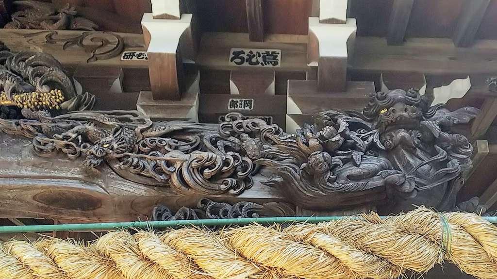 狭山神社の芸術