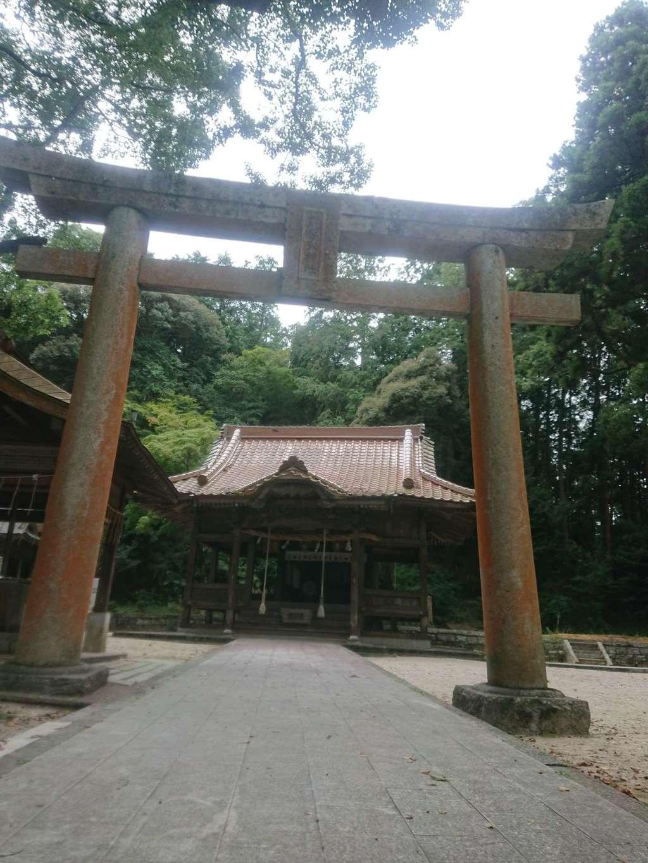射手引神社の鳥居