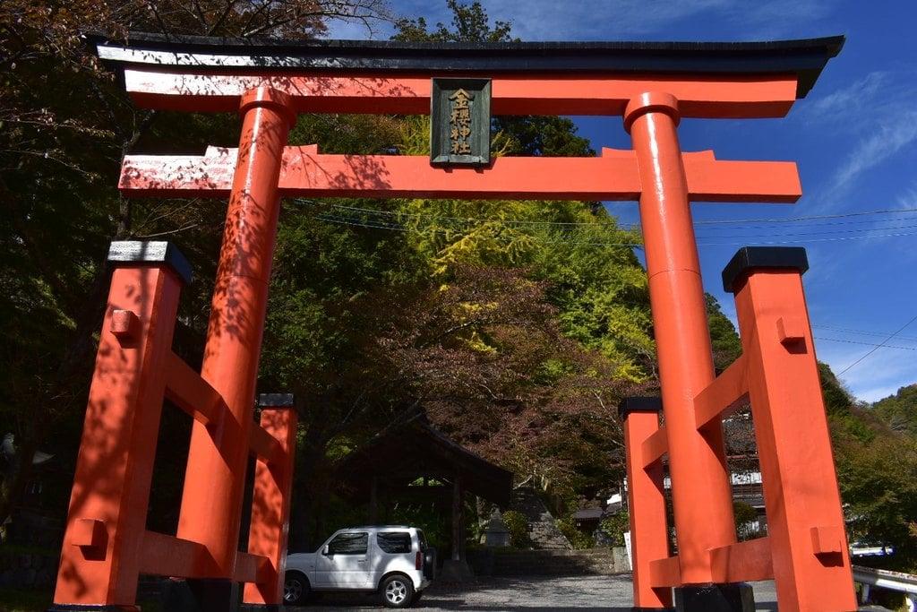 金櫻神社の鳥居